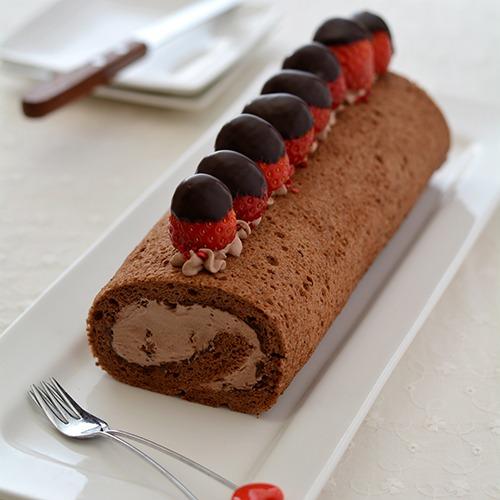 パリチョコロールケーキ