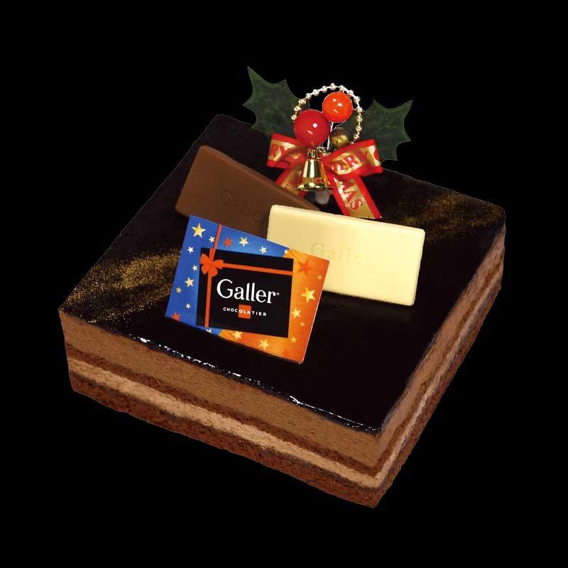 ガレーベルギーチョコレートケーキ
