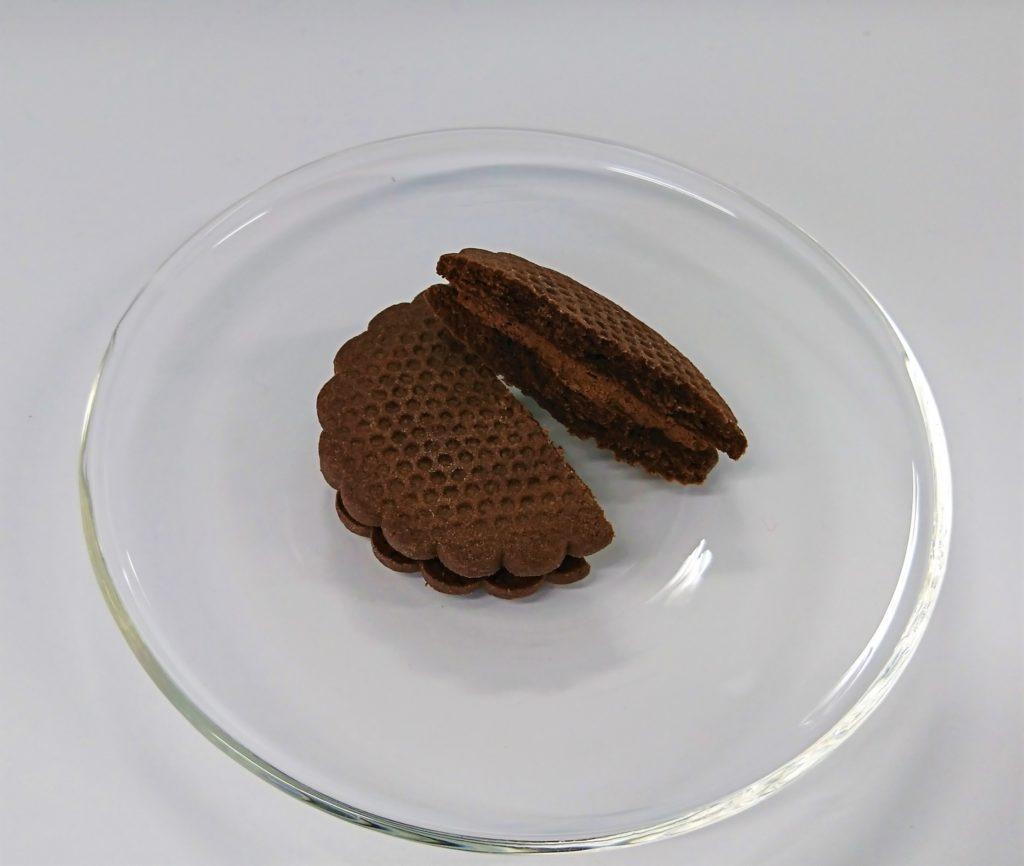 クリームサンドサブレ ショコラ_実食
