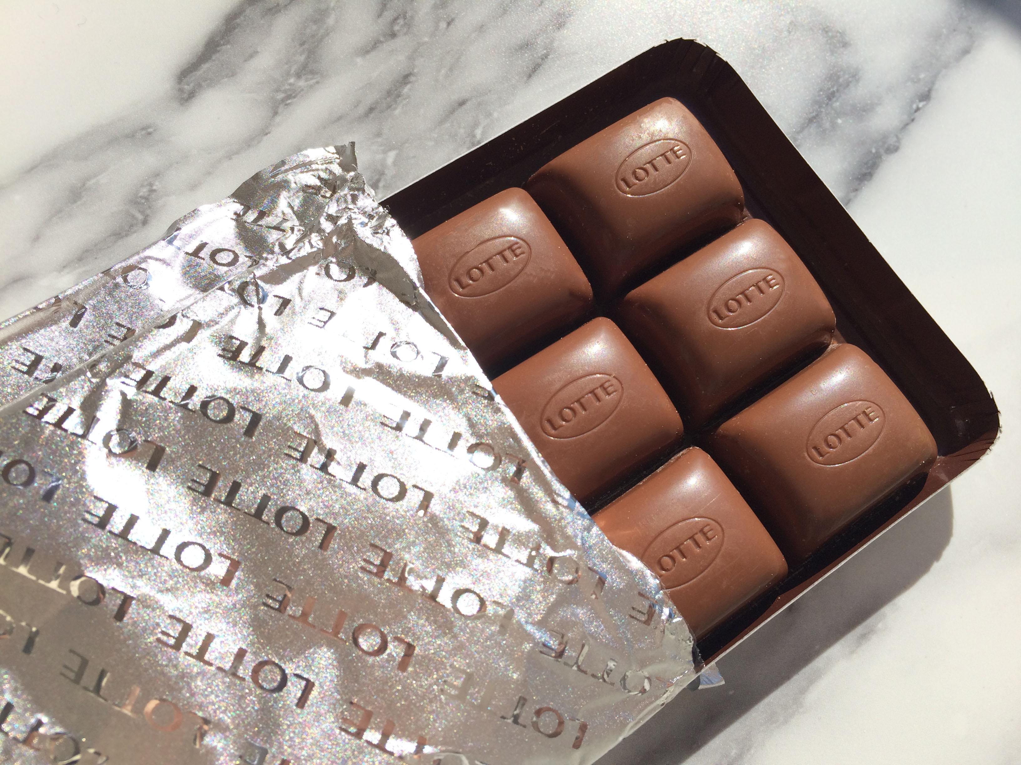 LOTTE チョコレート